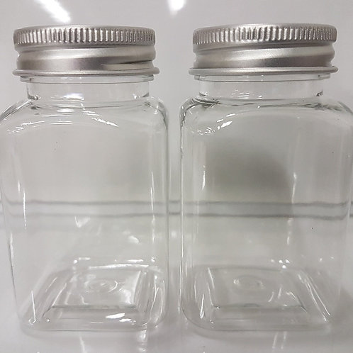 PACK OF 2 PLASTIC CONTAINERS