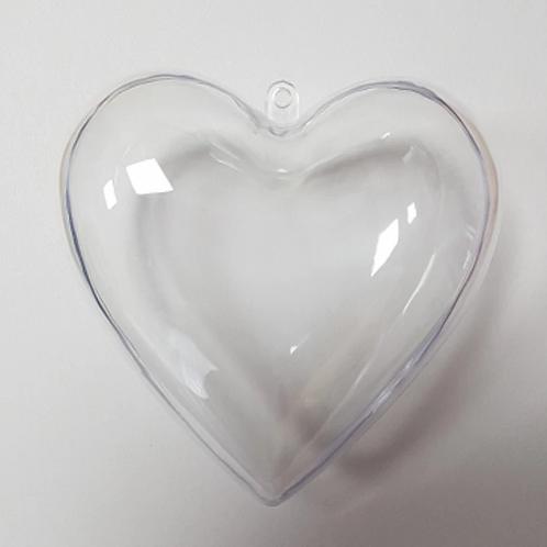 BATH BOMB MOULD - HEART 10CM