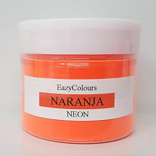 NEON NARANJA SOAP COLOUR