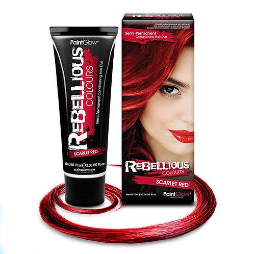 SCARLET RED HAIR DYE