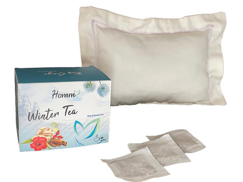 Lavantalı Ekru Yastık ve Winter Çay