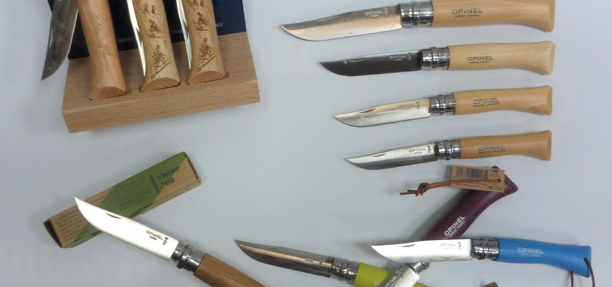 Opinels personnalisables
