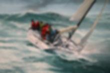 Racing yacht Aera