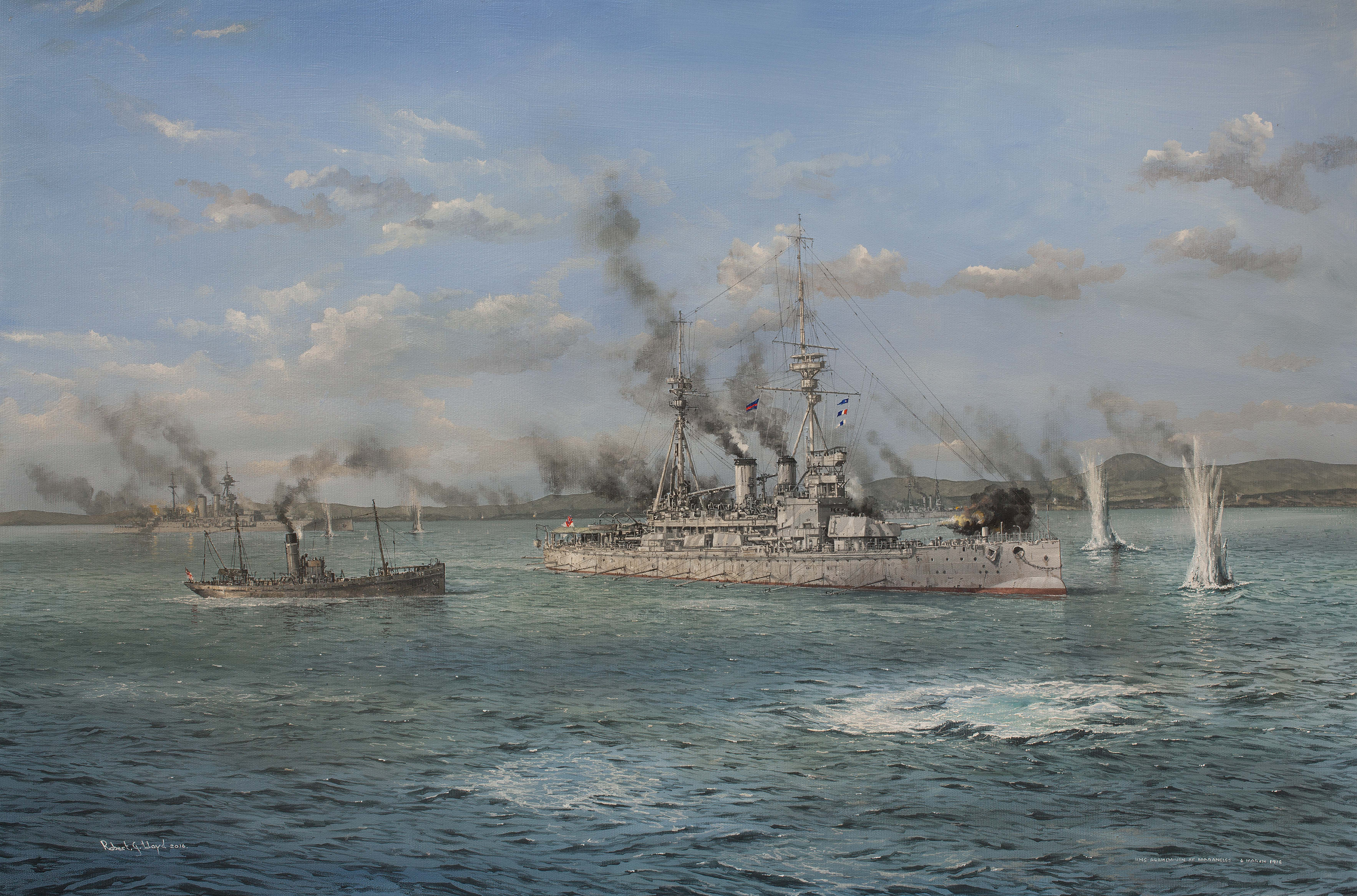 HMS Agamemnon Dradanelles 3mb