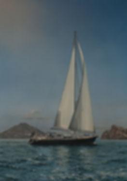 Sailing yacht Seahorn of Stromboli