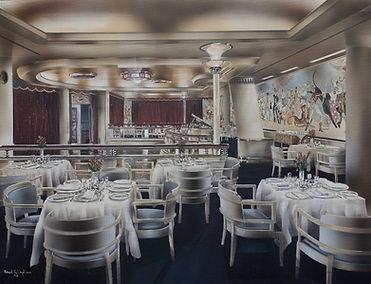 Queen Mary Verandah Grill 1936