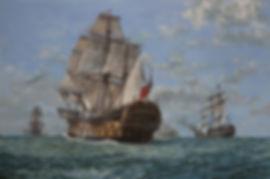 HMS Agamemnon Battle of Genoa