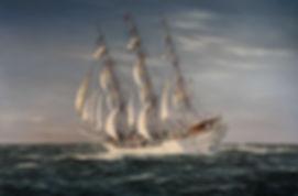 Christia Radditch Norwegian Sail Traning Ship
