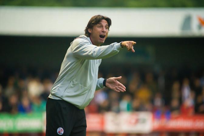 Gabriele Cioffi Crawley Town Manager