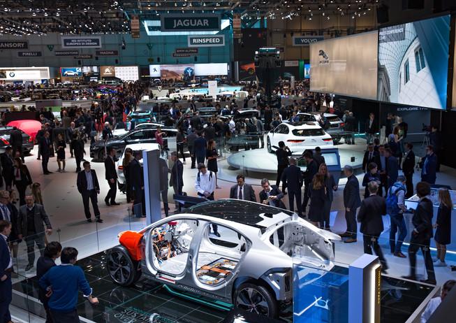 Geneva Motor Show Hall