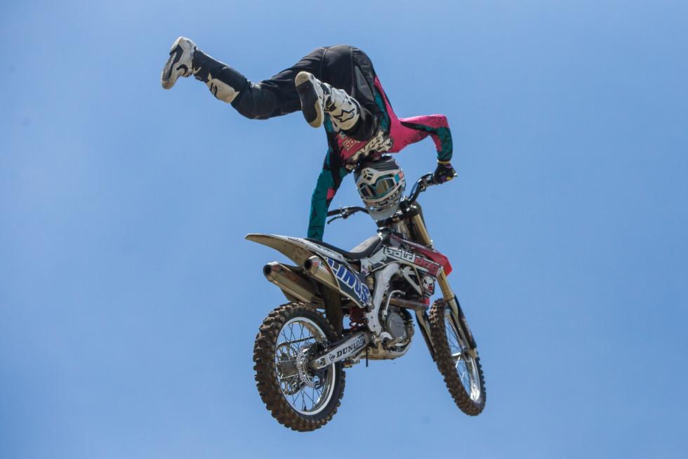 Freestyle Motorcross Jumper