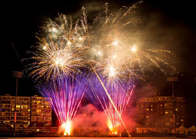 County Club Fireworks
