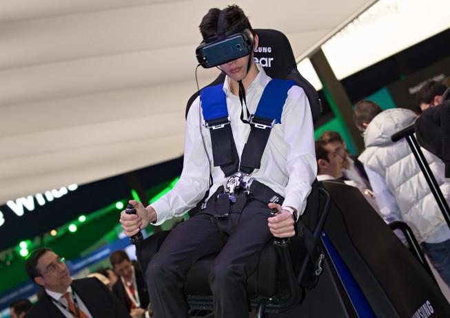 Samsung Virtual Flight Simulator