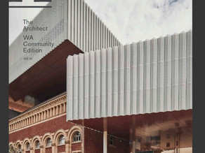 PHA project featured in The Architect