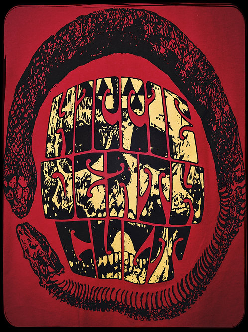 "Red HDC ""Ouroboros Skull"" T-Shirt"