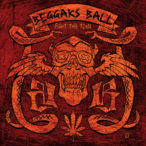 Beggars Ball - Fight This Town CD (Re-Issue)