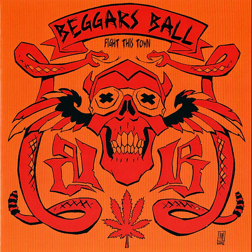 Beggars Ball - Fight This Town CD (Original Press)