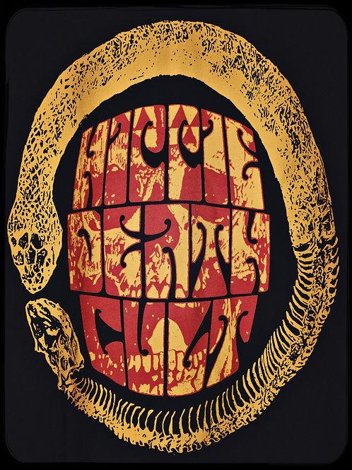 "HDC ""Ouroboros Skull"" T-Shirt (Red/Yellow)"
