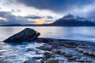 Cuillin Mountains from Elgol, Isle of Skye