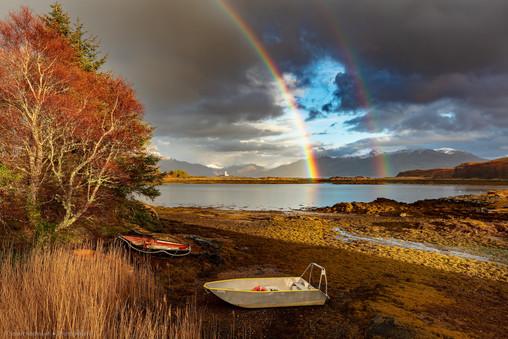 Isleornsay Rainbow, Isle of Skye