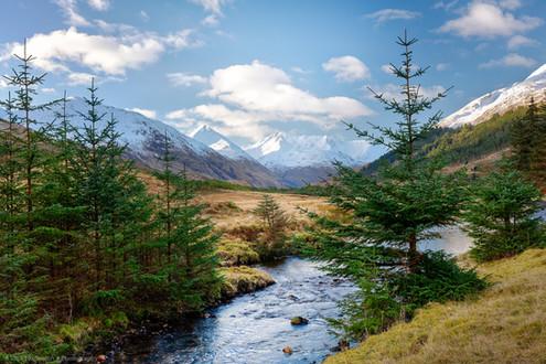 Glen Shiel, Scottish Highlands