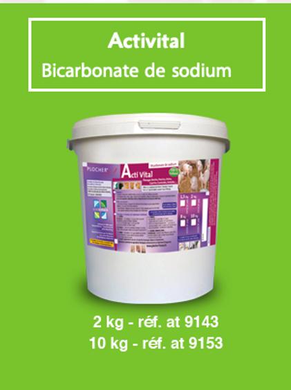 Activital - Plocher bicarbonate de sodium