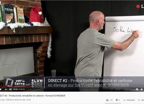 Vidéo :Productivité, rentabilité et carbone - Konrad SCHREIBER de la Vache Heureuse
