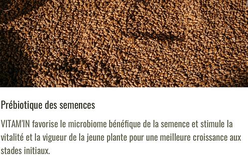 Enrobage de semences : Vitam'in Gaiago