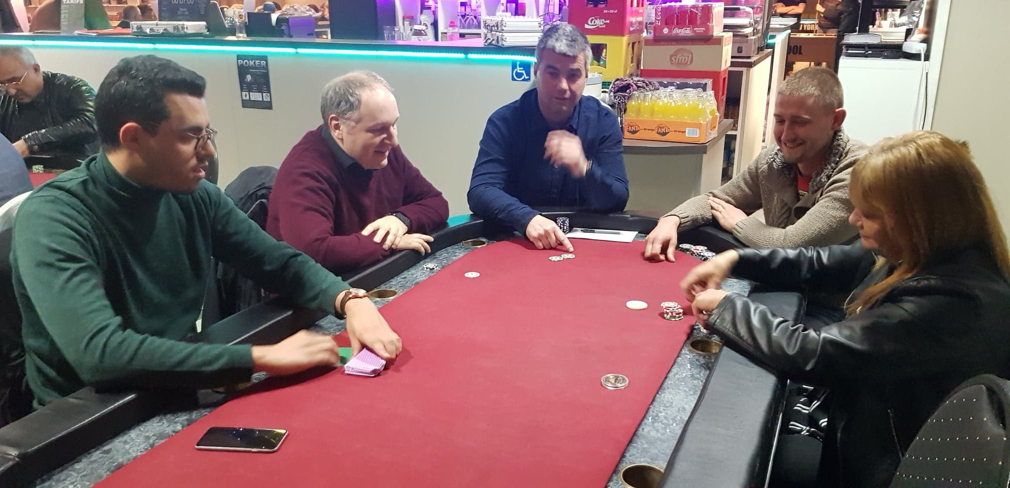 poker au city