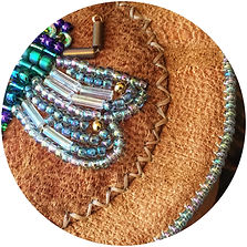 stitching and beading