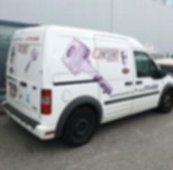 Serive Van In Home Locksmith On Road Service Vancouver