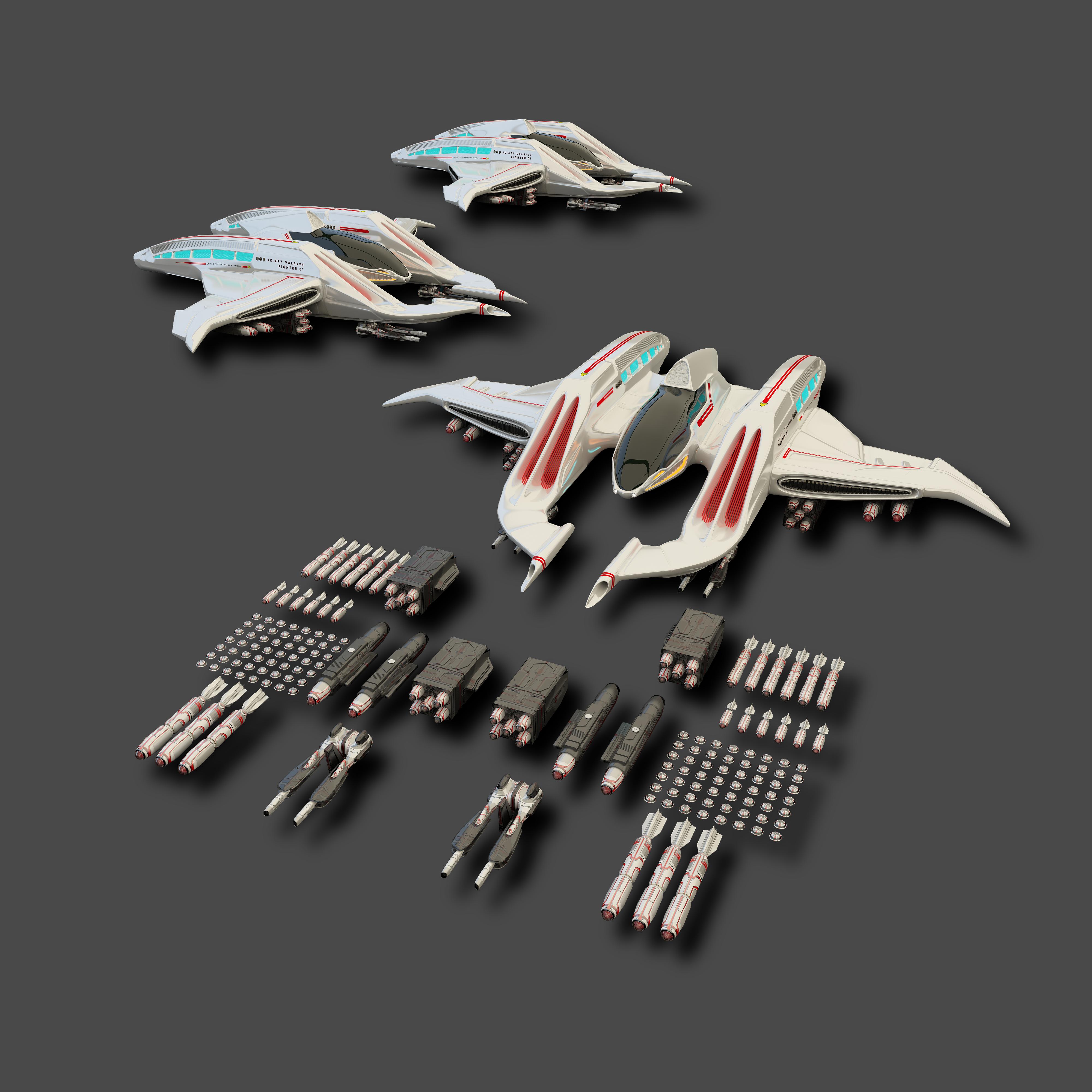 Star Trek Valravn космический кораб