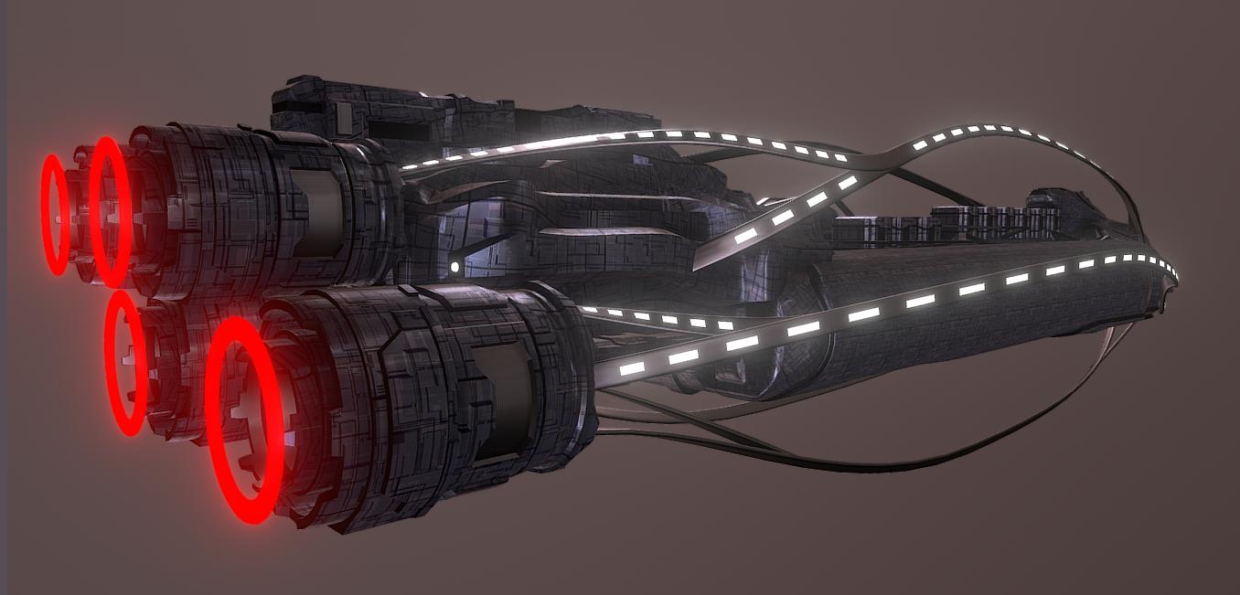 """Космический корабль """"Nostrands"""""""