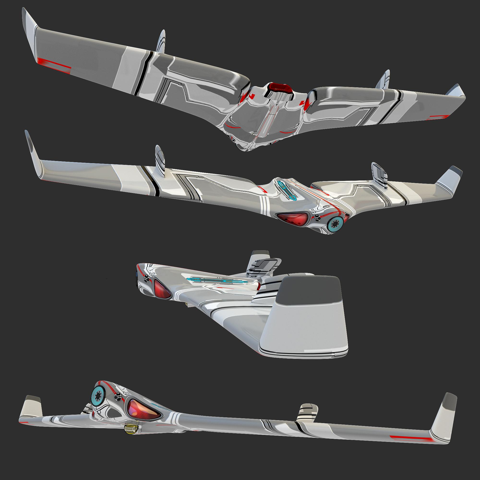 Tovarek-class FTR Drone