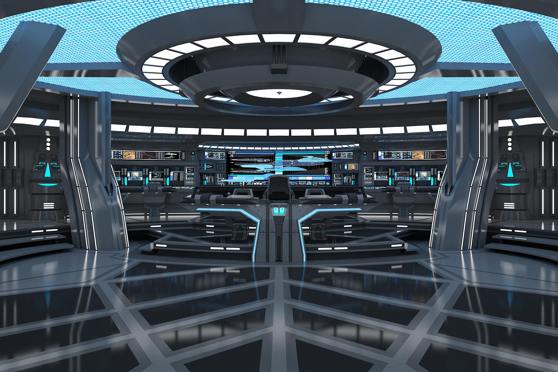 USS Theurgy главный мостик