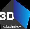 """SIA """" Kalashnikov 3D"""" logo"""