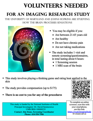 Pain Imaging Study