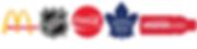 McDonald's, NHL, Coca-Cola, Toronto Maple Leafs, VitamiWater,