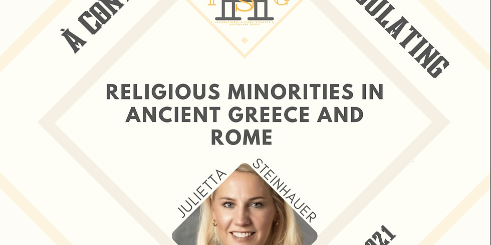 Religious Minorities in Ancient Greece and Rome