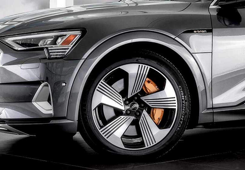 20. Audi e-tron, in cooperation with Brian Harris Audi, Baton Rouge  (logo for composite position)