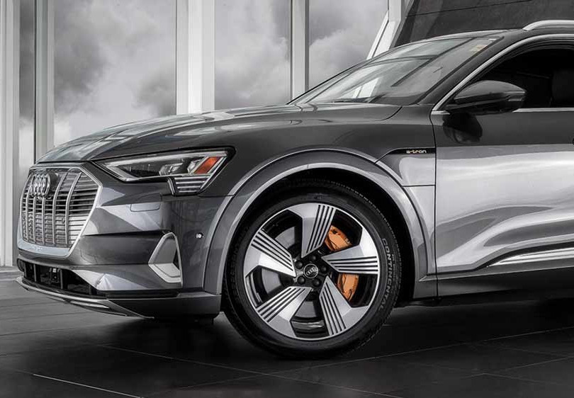 18. Audi e-tron, in cooperation with Brian Harris Audi, Baton Rouge  (logo for composite position)