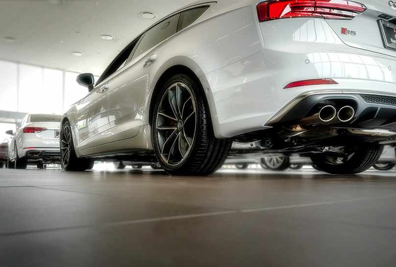 17. Audi, in cooperation with Brian Harris Audi, Baton Rouge  (logo for composite position)