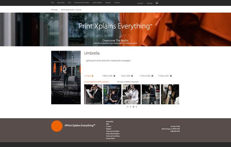 PXE-website page