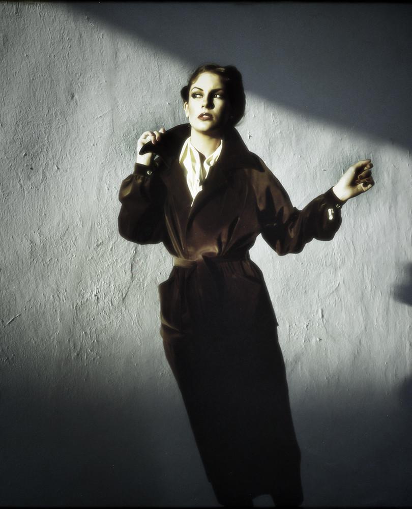Alison in light streak