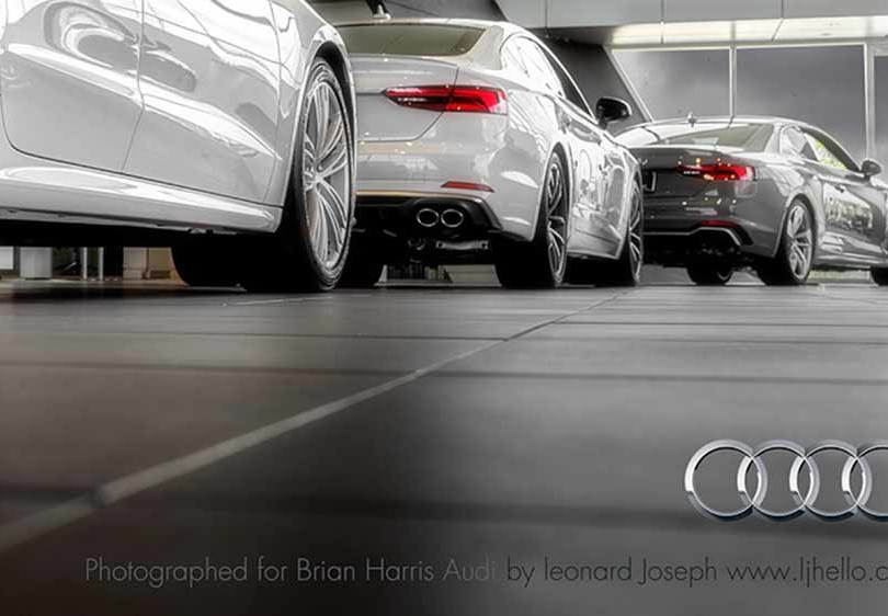 12. Audi, in cooperation with Brian Harris Audi, Baton Rouge  (logo for composite position)