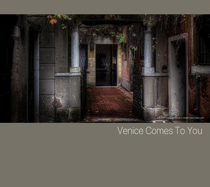 Venice Comes To You, Pensione Accademia.