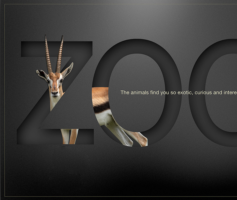 zoo-mock-up, antelope©