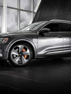23. Audi e-tron, in cooperation with Brian Harris Audi, Baton Rouge  (logo for composite position)