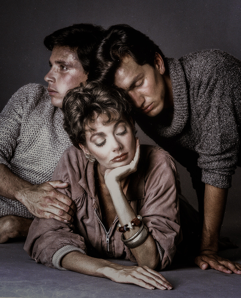John, Barbara and Caesar