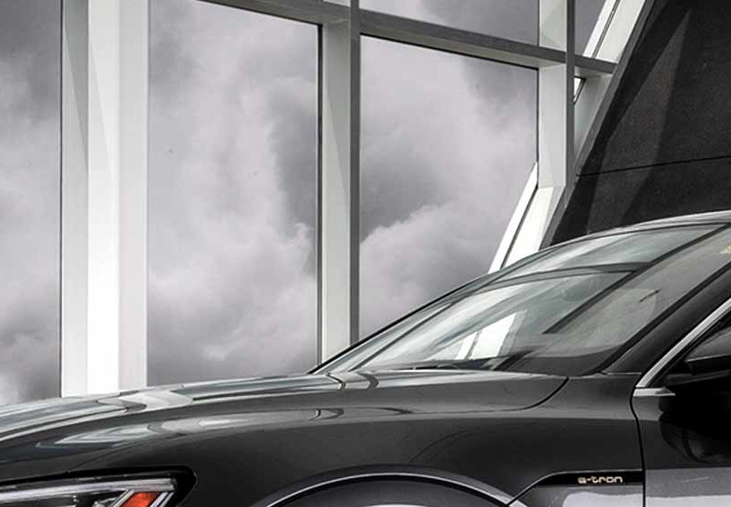 22. Audi e-tron, in cooperation with Brian Harris Audi, Baton Rouge  (logo for composite position)